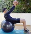 treino core-abdominal-fitball-bola medicinal