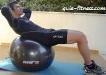 treino em casa-abdominal-crunch-fitball