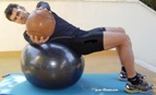 core workout-fitball-abdominal-fitball