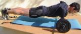 flexões de braços em barra