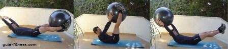 core total-abdominais-lombar-fitball