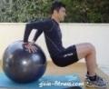 triceps em fitball