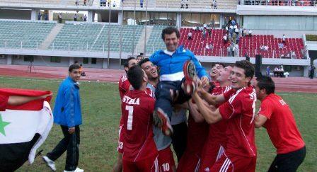 futebol-selecao siria-rui almeida
