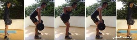 Treino corpo total-treino força-treino costas