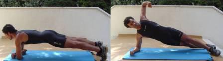 perder barriga-abdominais-prancha lateral