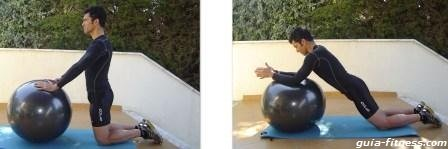 treino core-prancha abdominal-fitball-lombar
